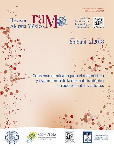 Ver Vol. 65 (2018): Suplemento 2: Consenso mexicano para el diagnóstico y tratamiento de la dermatitis atópica en adolescentes y adultos