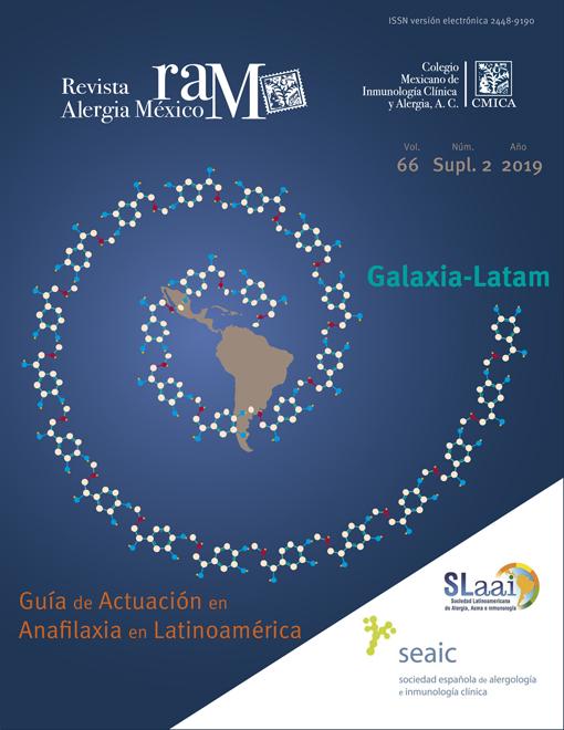 Ver Vol. 66 (2019): Suplemento 2: Guía de actuación en anafilaxia en Latinoamérica-Galaxia-Latam