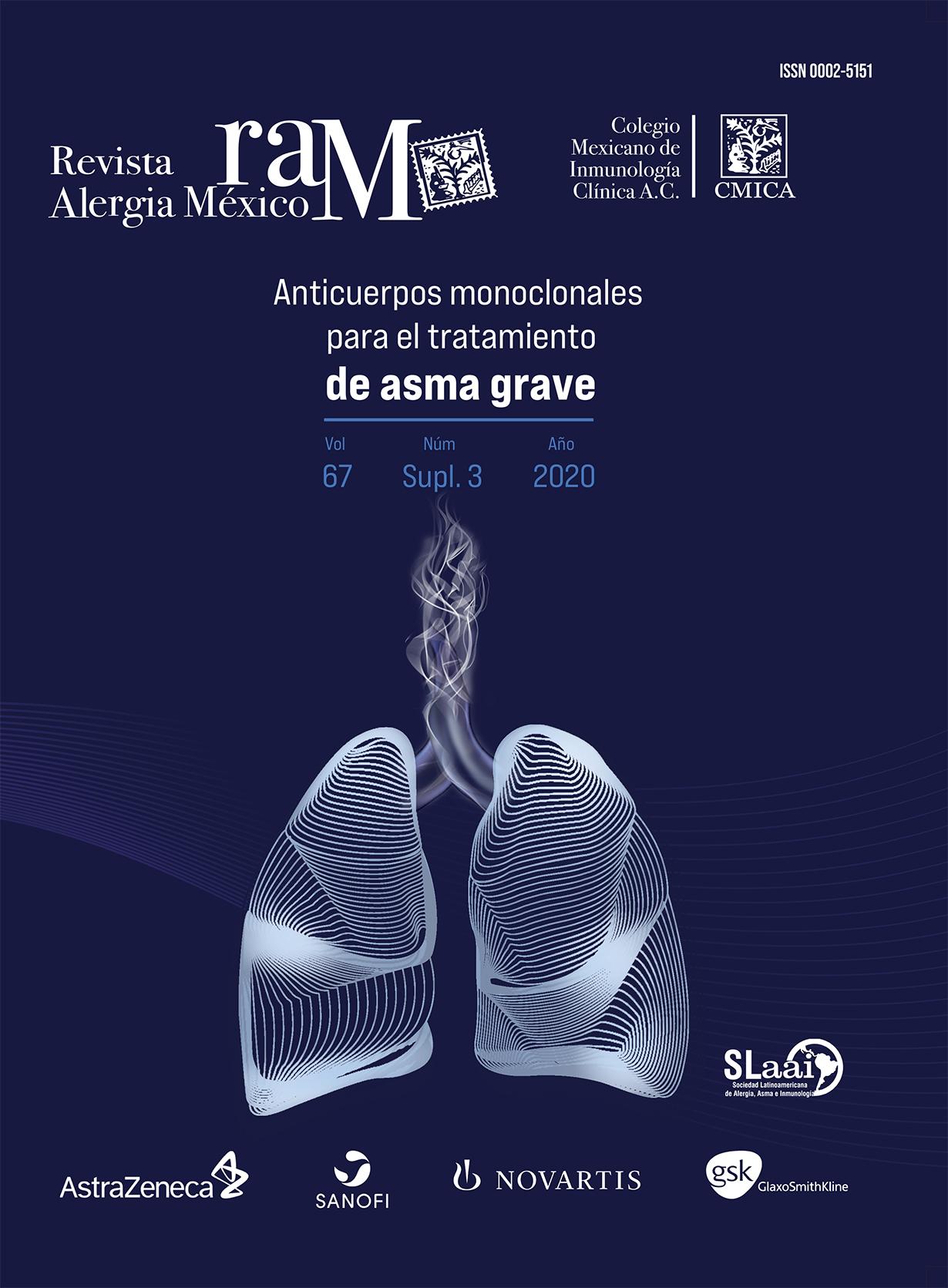 Ver Vol. 67 (2020): Suplemento 3: Biológicos para el tratamiento de asma grave