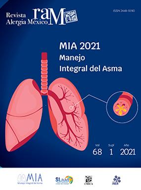 Ver Vol. 68 (2021): MIA 2021, Manejo Integral del Asma. Lineamientos para México