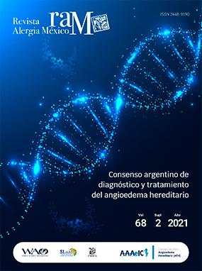Ver Vol. 68 (2021): Consenso argentino de diagnóstico y tratamiento del angioedema hereditario